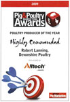 2013 Pig & Poultry Producer of the year 2009